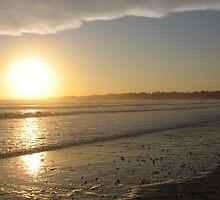 Sunset in Rhode Island by KATE! Binns
