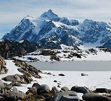 Mount Shuksan in Winter by Amy Hale