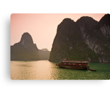 Halong Bay Sunrise Canvas Print