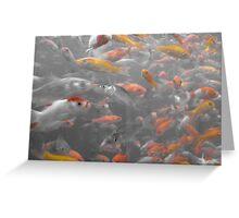 goldfishscape Greeting Card