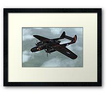 Northrop P-61 Black Widow Framed Print