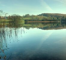 Esthwaite Water in December by VoluntaryRanger