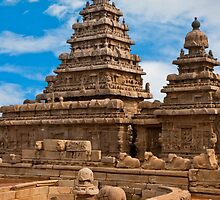 Mahabalipuram Temple by Nickolay Stanev