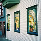 Victoria. Painted Windows. British Columbia, Canada 2006 by Igor Pozdnyakov