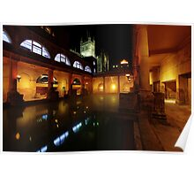 Thermal Baths at Bath Poster