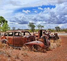 Car Wrecks in the Outback by Ausgirl60
