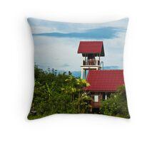 Phuket House Throw Pillow