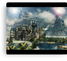 mira castle Canvas Print