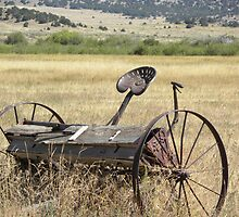 Old Planter in Field by Jimlhanson