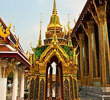 Grand Palace in Bangkok by Nickolay Stanev