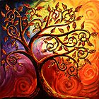 The Tree of Life by Abstract D&#x27;Oyley
