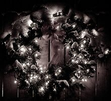 CHRISTMAS WREATH by rlkstudio