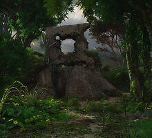 Deeping Bosk - Solstice Stone by Syd Baker