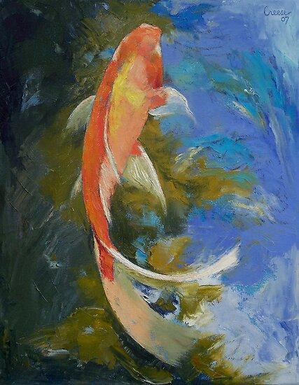 Koi On Pinterest Koi Painting Butterfly Koi And Fish