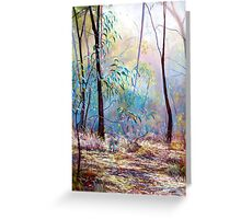 'Wickham Mist 2' Greeting Card