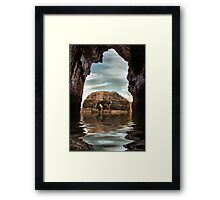 The Virgin Rock Framed Print