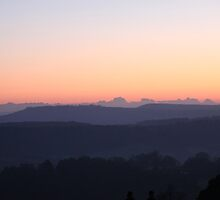 The Hills - Cloud scape horizon by Penny V-P
