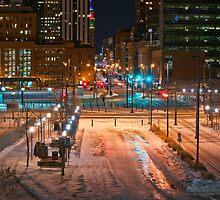 Denver city streets by John Anderson