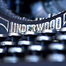 Underwood Typewriter I by Tia Allor (formerly Bailey)