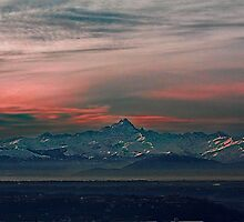 Monviso - 3841 mt - Italy by becks78