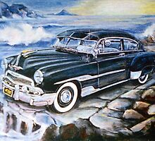 '51 CHEVY by IRENE NOWICKI
