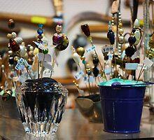Vintage Jewellery at Evandale Market by Jenni Greene