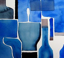 All my BLUE COLORS  by May Hege  Rygel