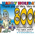 8000 Thank you  by Ken Tregoning