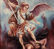 Archangel Michael by Sarah  Mac