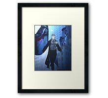 Gunner Redcloud Framed Print