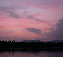 twilight  - phangnga bay, thailand by choppers