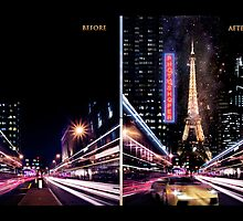 paris progress, before and after by zenati
