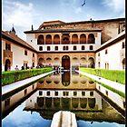 Granada. Alhambra. Patio de los Arrayanes by josemazcona