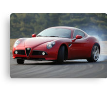 The Alfa Romeo 8C Canvas Print