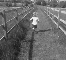 Race You Home - Maxted Fields, Apsley by lisaanne