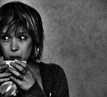 Lady Kaye Drinks Tea by Hushabye Lifestyles