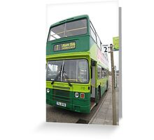 Number 7 Yarmouth to Alum Bay Greeting Card