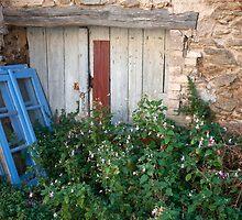 French village - La Garde-Freinet by Cathy Cormack