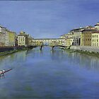 Ponte Veicchio by Peter Worsley