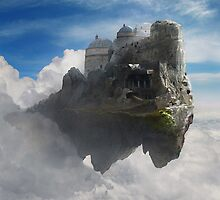 Sky Castle  by monkeyfish