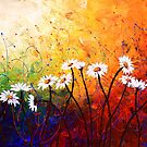 The Daisy Dance by Abstract D&#x27;Oyley