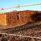 Ruin on the Murray Bridge to Palmer Rd South Australia by jembot
