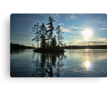 Crystal Lake Canvas Print