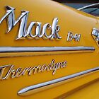 Yellow Mack Truck by sylentbob