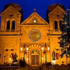 The Cathedral Basilica of St. Francis de Assisi, Santa Fe by TheBlindHog