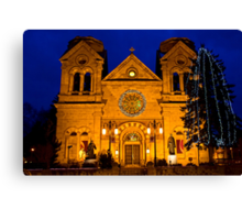 The Cathedral Basilica of St. Francis de Assisi, Santa Fe Canvas Print