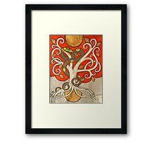 The Serpent Tree Framed Print