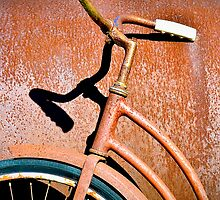 Shadows and rust by Susana Weber