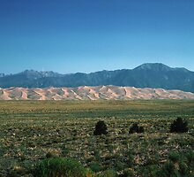 Great Sand Dunes, Colorado, USA by nealbarnett