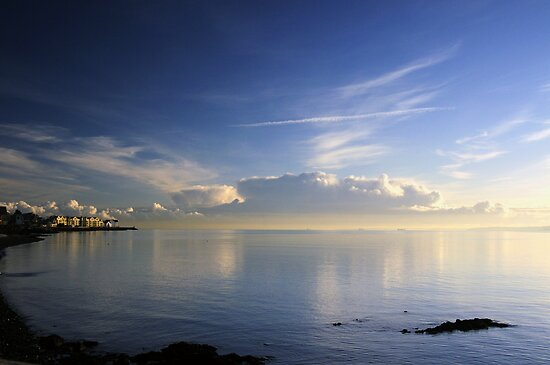 Swifts Quay/Belfast Lough by Stephen Maxwell
